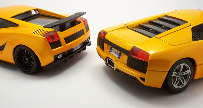 Lamborghini Faceoff Murcielago Lp640 Gallardo Superleggera