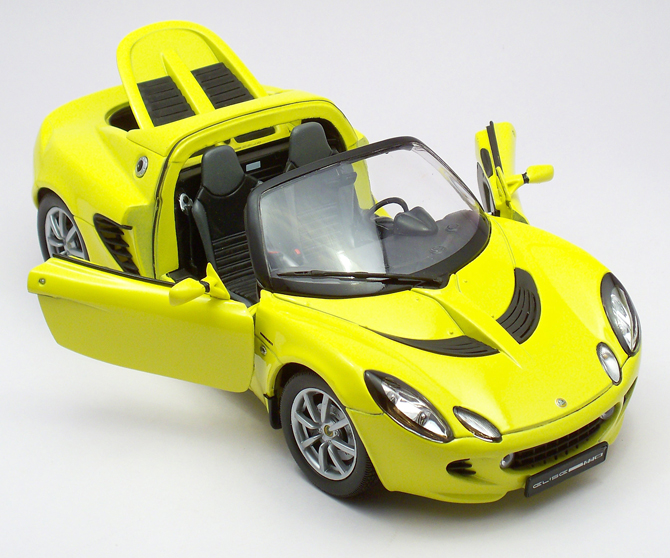 This pretty model has opening doors ... & Lotus Elise 111S 2003 u2013 Welly u2013 xDiecast