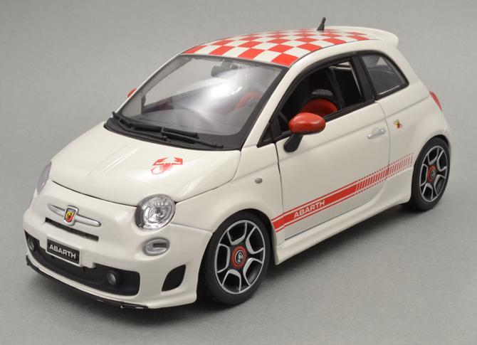 Fiat 500 Abarth Edition Bburago Xdiecast