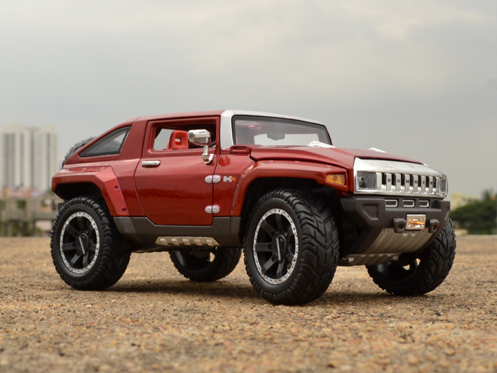 Hummer HX Concept – Maisto. The Hummer HX is a concept Off-roader designed