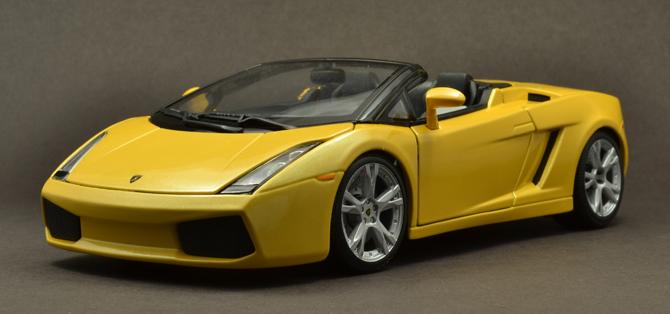 Lamborghini Gallardo Roadster - 3/4 Front