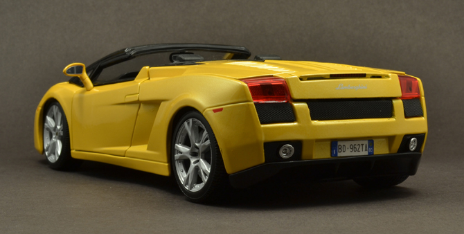 Lamborghini Gallardo Roadster - 3/4 Rear