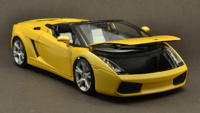 Lamborghini Gallardo Roadster - Front bin