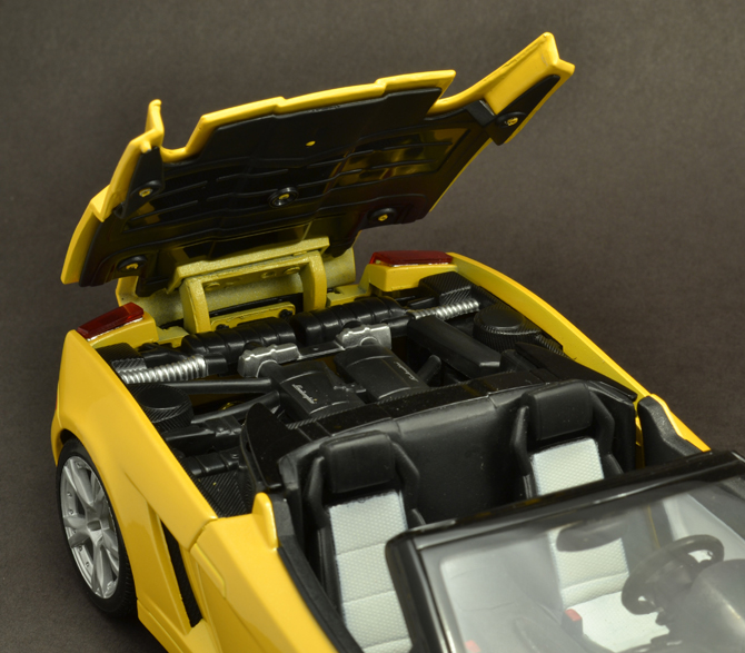 Lamborghini Gallardo Roadster - Engine bay