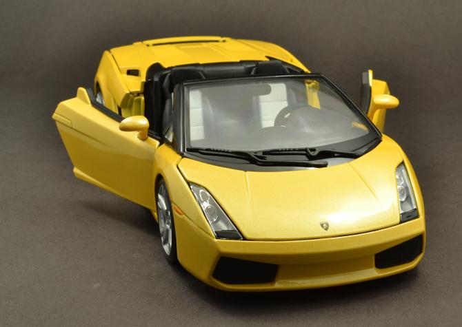 Lamborghini Gallardo Roadster - Doors