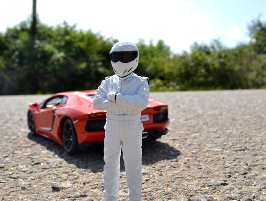 Meet The Stig Figurine in White