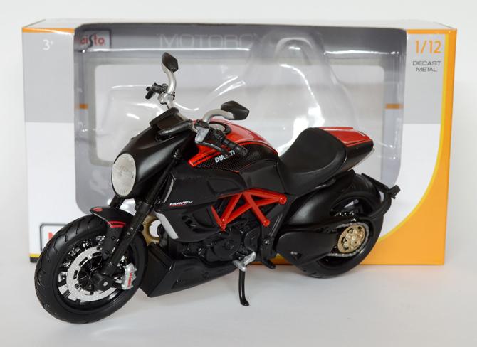 Ducati Diavel Carbon – Maisto – xcast