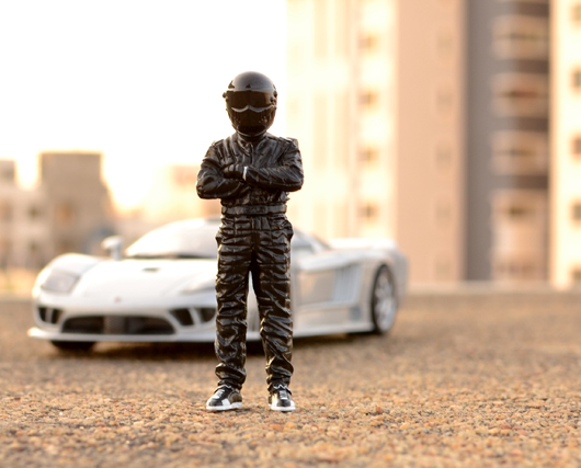 Meet The Stig Figurine in Black