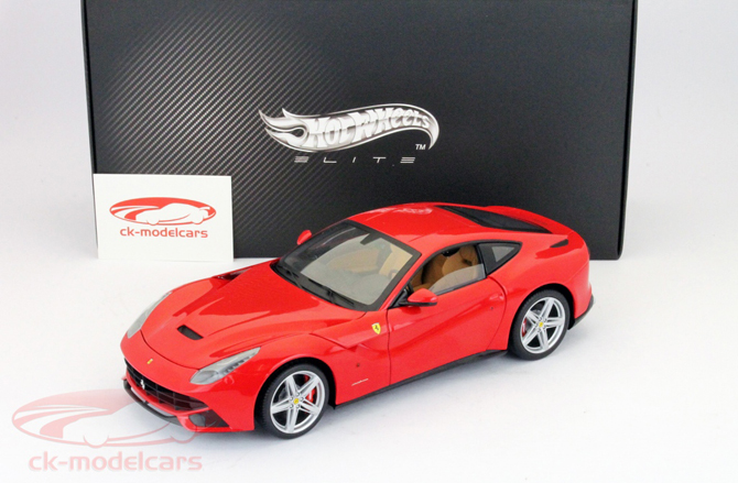 Hot Wheels Elite Ferrari F12 Berlinetta Hits The Stores