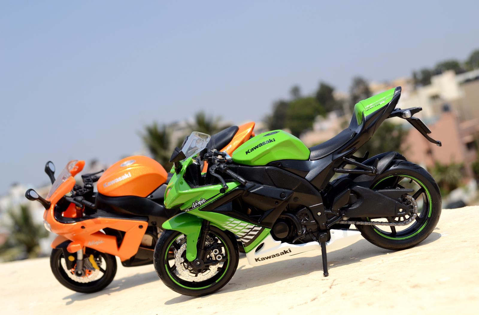 Orange Ninja Bike