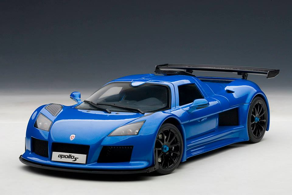 gumpert apollo s by autoart is here to rock the collectors world xdiecast. Black Bedroom Furniture Sets. Home Design Ideas