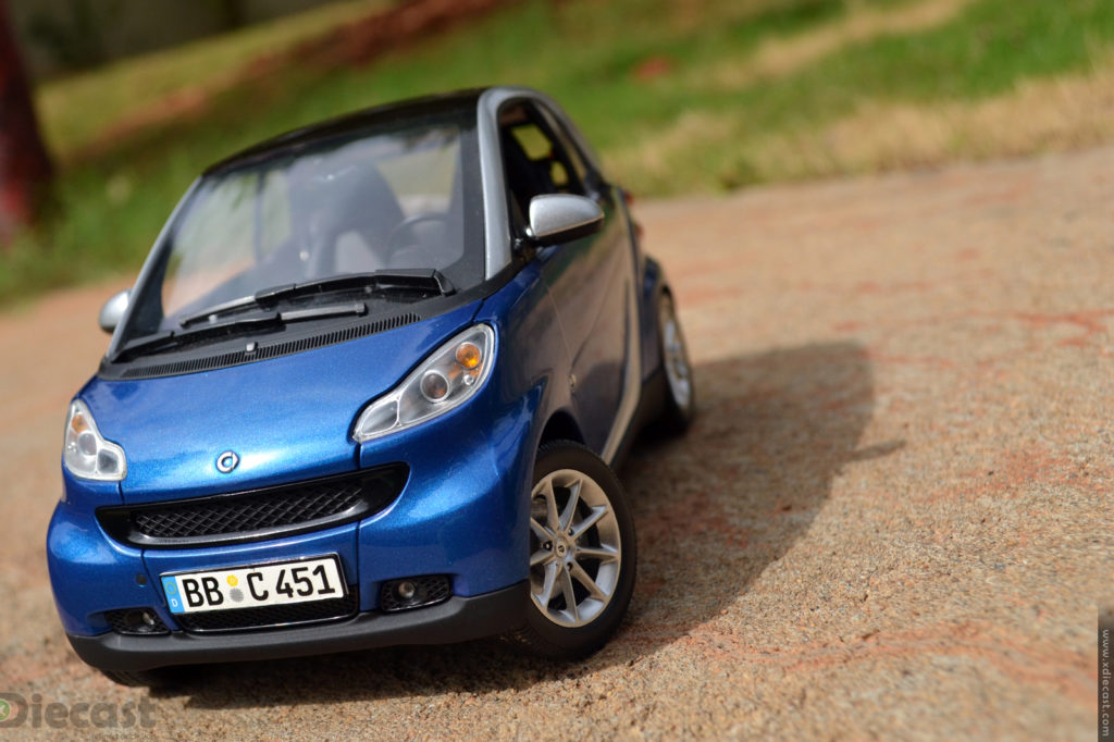 Minichamps 2007 Smart ForTwo Coupe –  Diecast Car Review