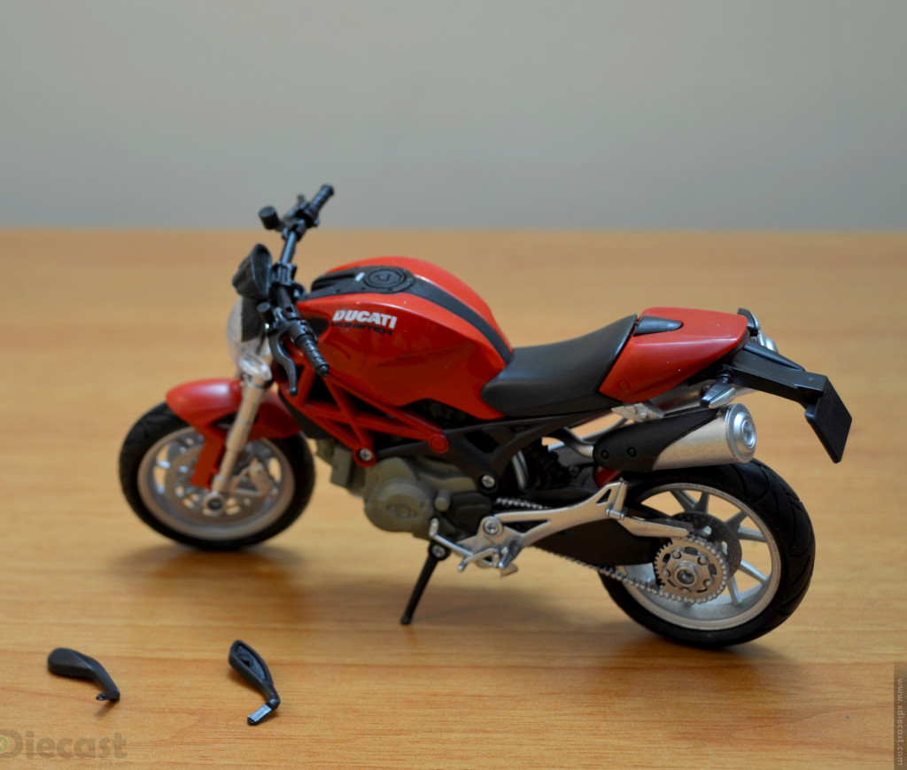 newray 1 12 ducati monster 1100 unboxed xdiecast. Black Bedroom Furniture Sets. Home Design Ideas