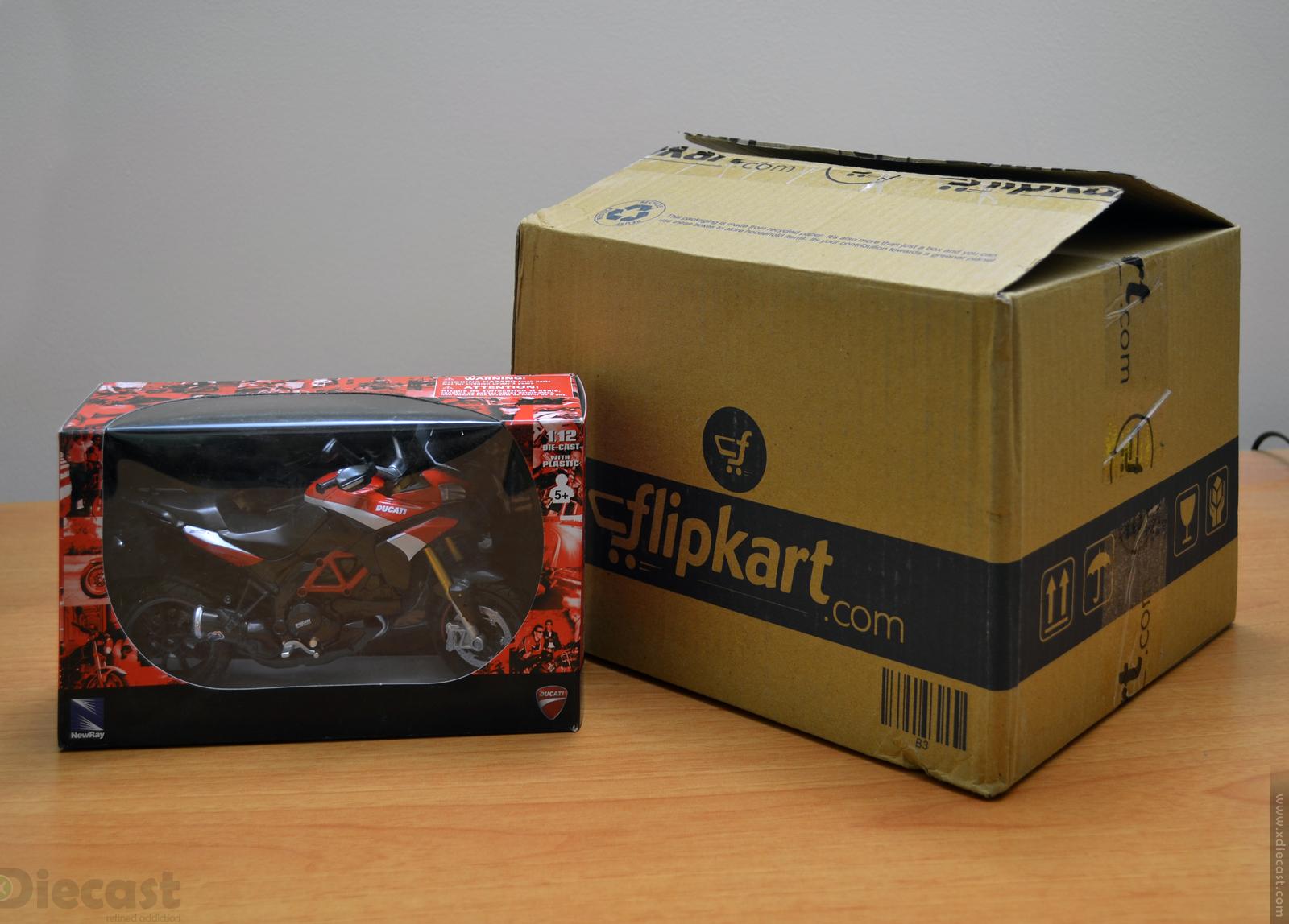 Newray 1 12 Ducati Multistrada 1200s Pikes Peak  U2013 Unboxed  U2013 Xdiecast