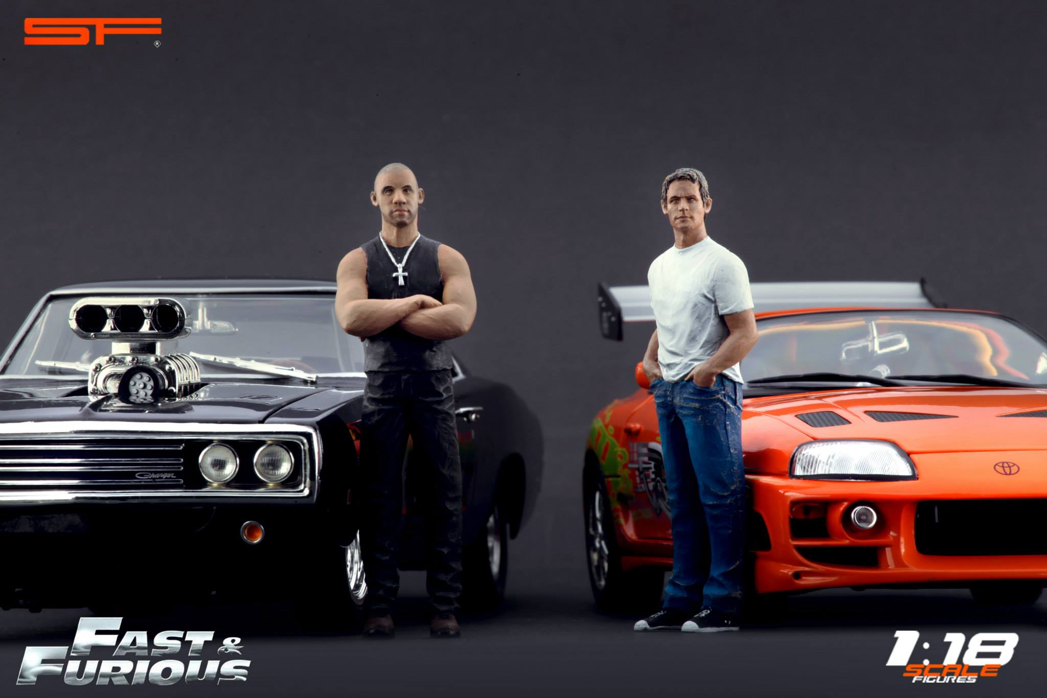 scale figures releases fast and furious famed paul walker