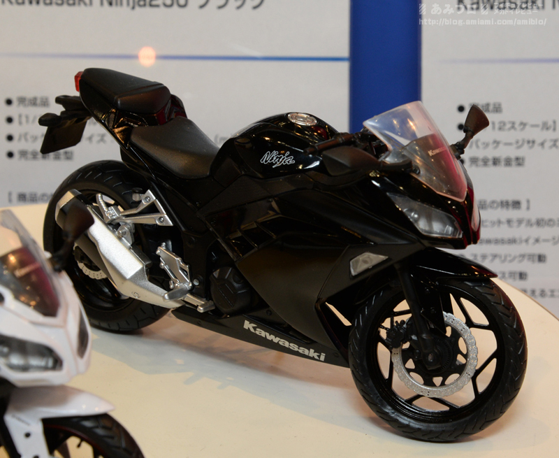 Kawasaki Ninja 250 made by Automaxx can now be parked in your 1:12