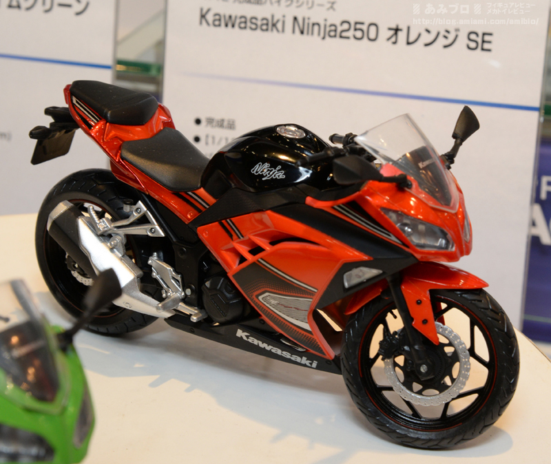 Kawasaki Ninja 250 made by Automaxx can now be parked in your 1:12 ...