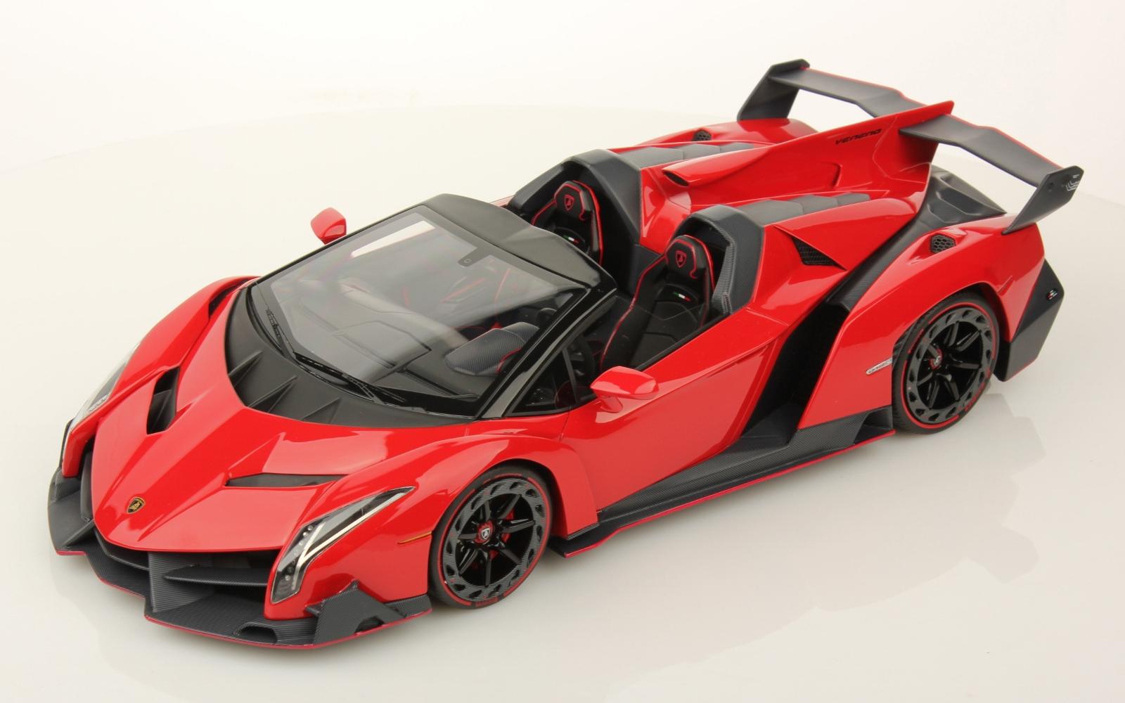 mr collection lamborghini veneno roadster 118 rosso mars - Red Lamborghini Veneno Wallpaper
