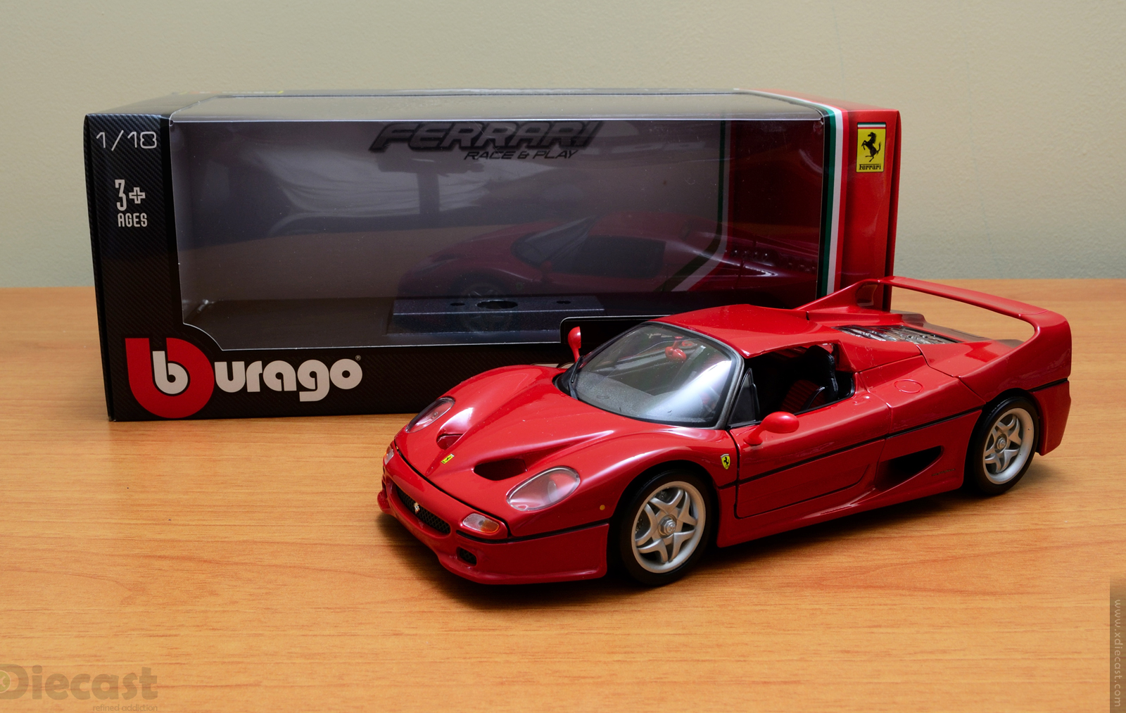 Bburago 1:18 Ferrari F50 – Unboxed – xcast