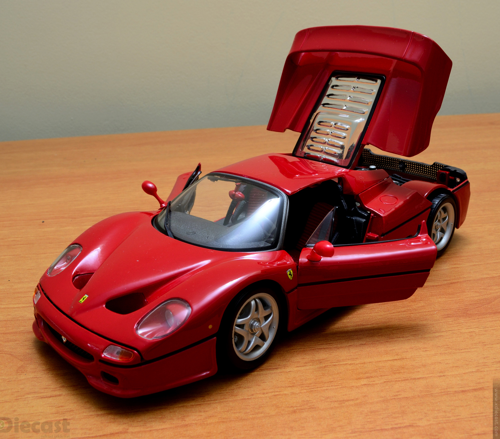 bburago 1 18 ferrari f50 unboxed xdiecast. Black Bedroom Furniture Sets. Home Design Ideas