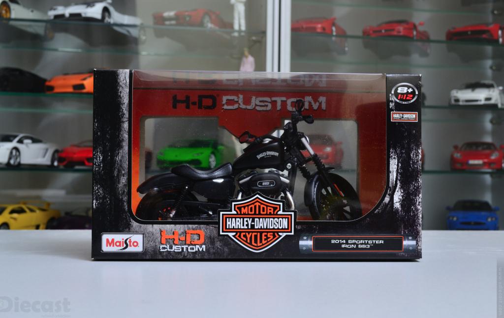 Maisto 1:12 Harley Davidson Iron 883 - Box