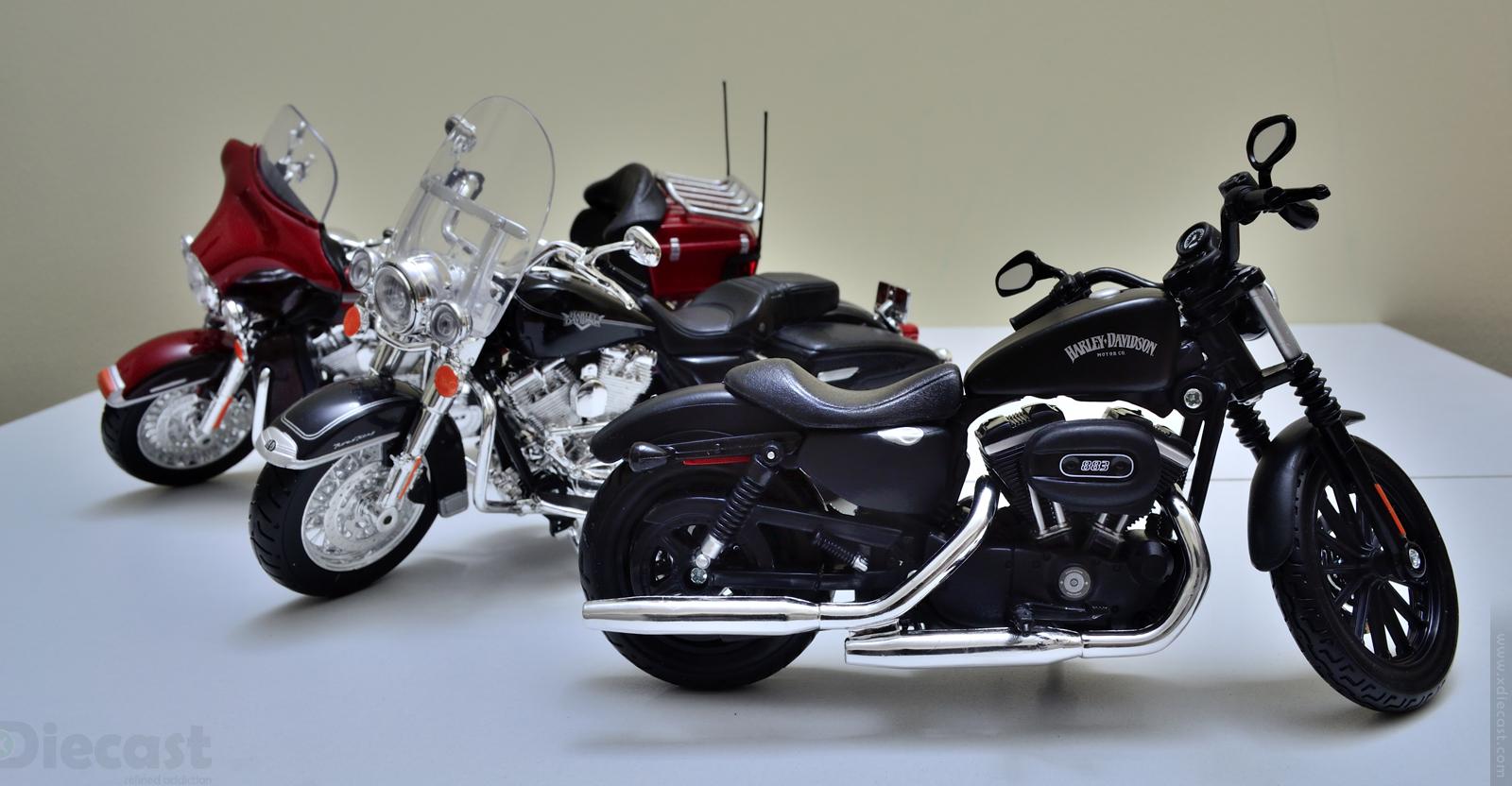 Maisto 1:12 Harley Davidson Family