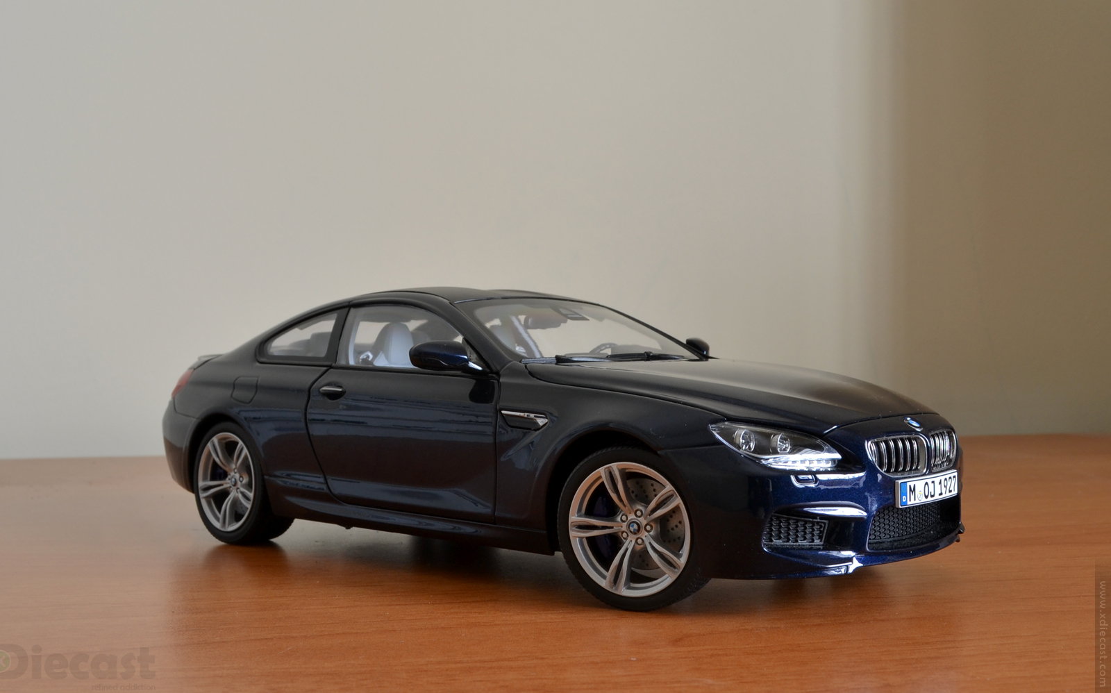 paragon models 1 18 bmw m6 coupe f13m unboxed xdiecast. Black Bedroom Furniture Sets. Home Design Ideas