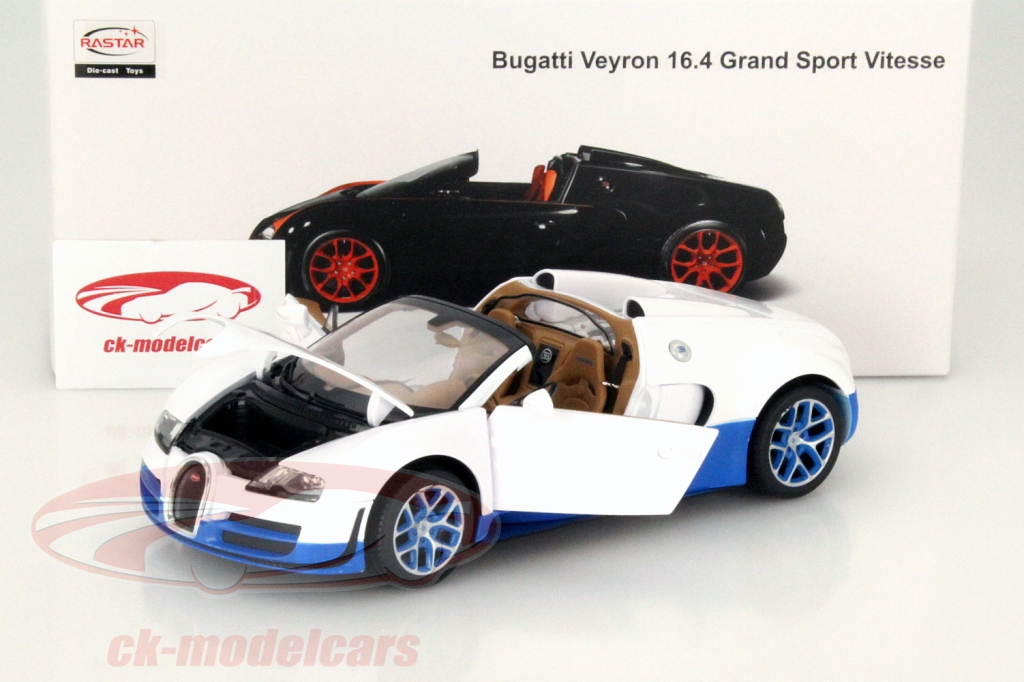 rastar makes the most affordable 1 18 diecast bugatti veyron 16 4 grand sport. Black Bedroom Furniture Sets. Home Design Ideas