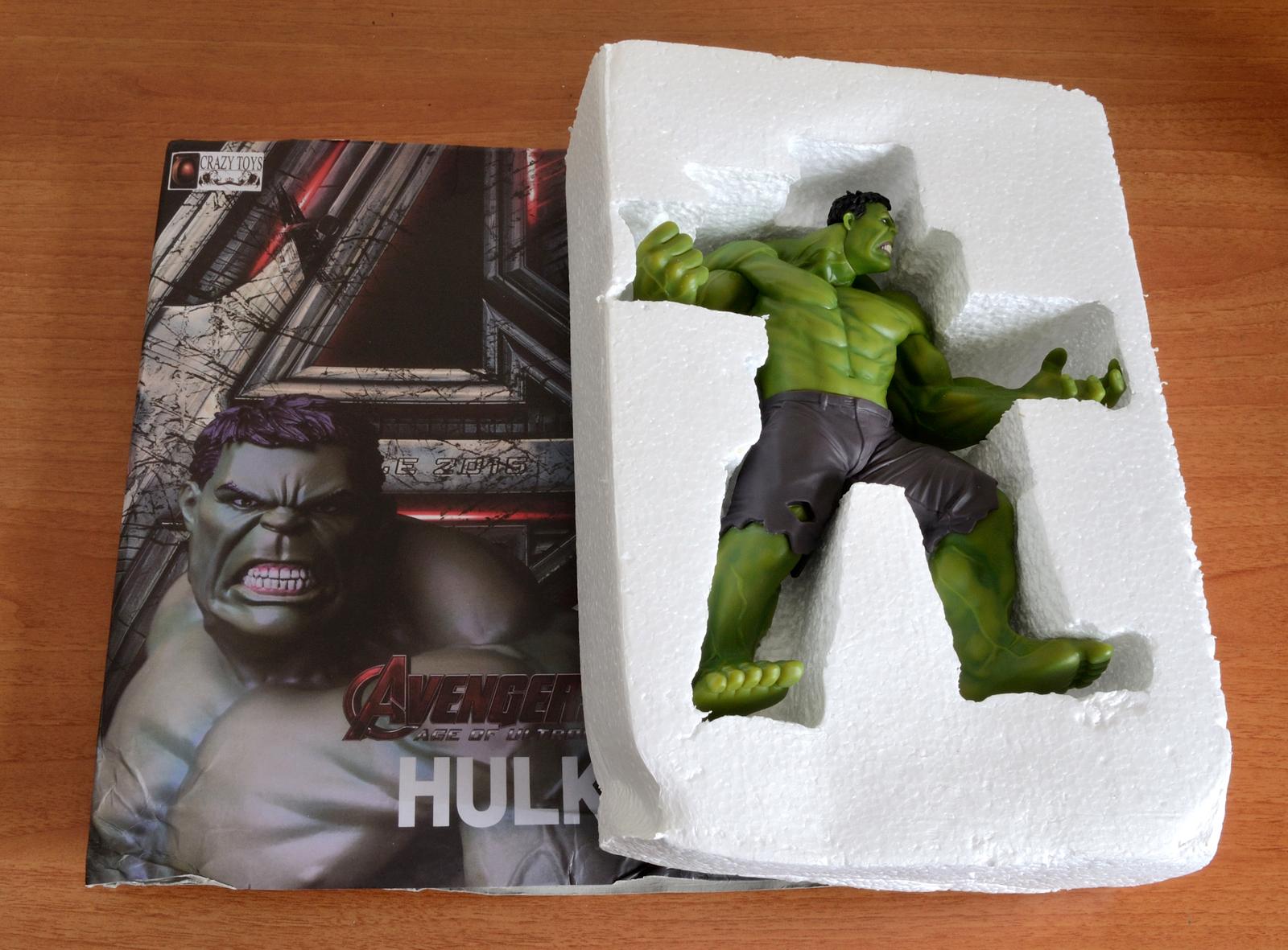 Crazy Toys Avengers - Age of Ultron Hulk Figure - Inner Case