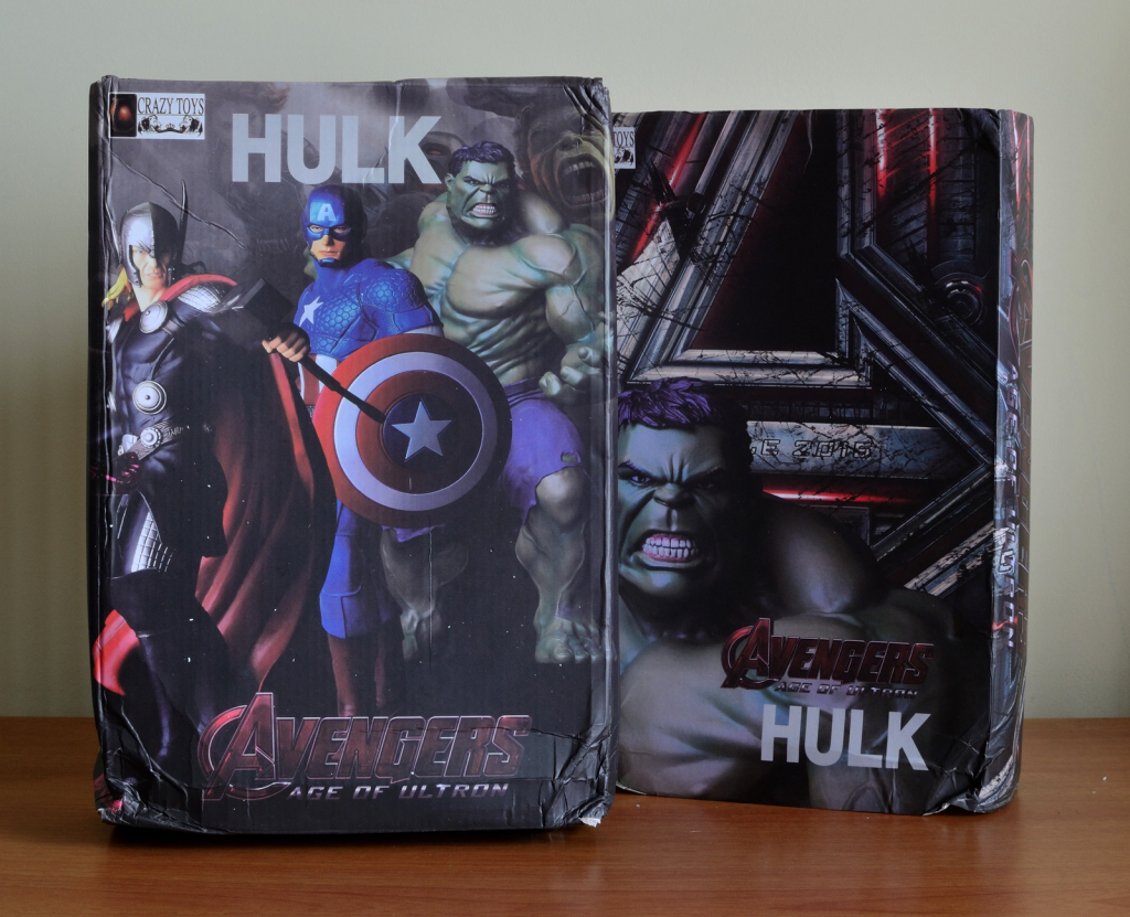 Crazy Toys Avengers - Age of Ultron Hulk Figure  - Box