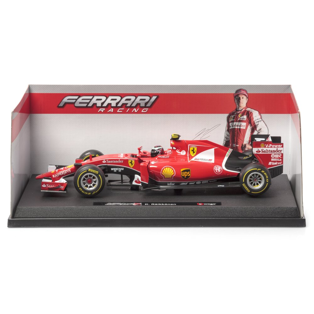 1 18 scale 2015 f1 ferrari by bburago coming soon pre. Black Bedroom Furniture Sets. Home Design Ideas