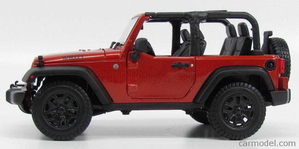 1:18 Scale 2014 Jeep Wrangler Willys Wheeler Version ...