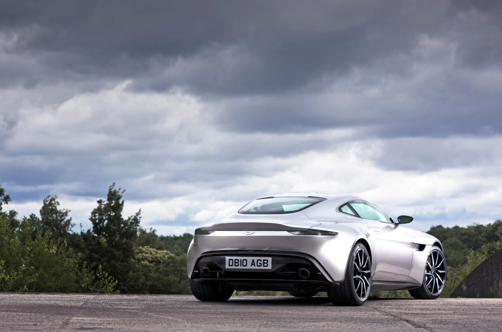 Minichamps James Bond Spectre Aston Martin Db Rear X
