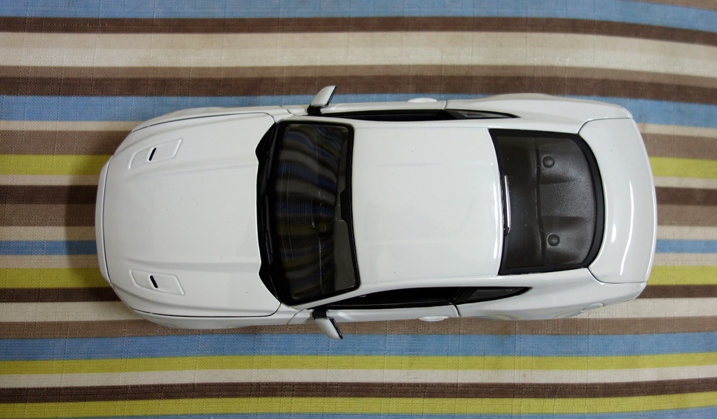 Maisto 1:18 Ford Mustang 2015 - Top View