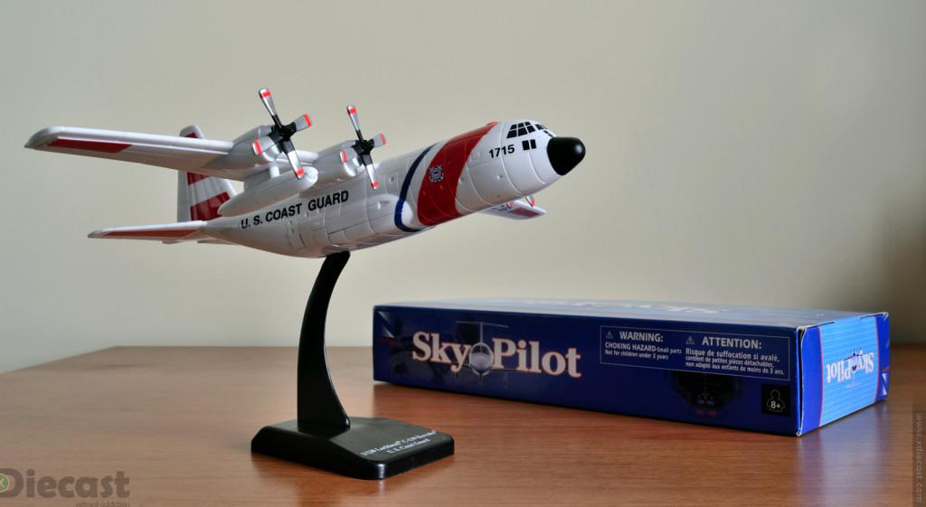Newray Skypilot Lockheed C-130 Hercules USCG – Unboxed