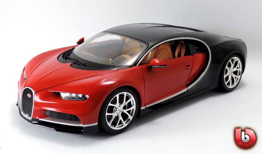 1:18 Bburago 2017 Bugatti Chiron - Red