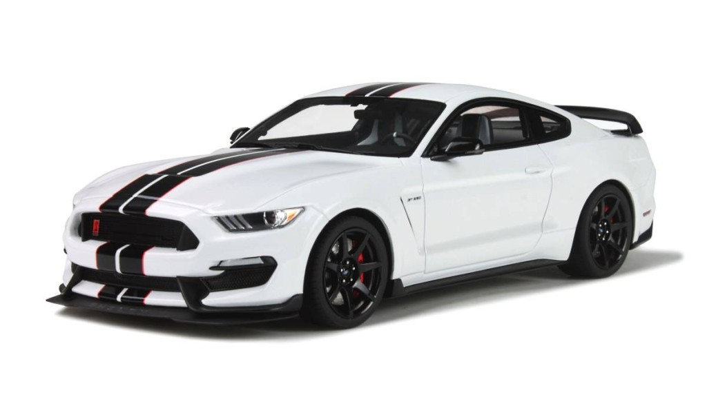 18 ford mustang shelby gt350r coming this october from gt spirit