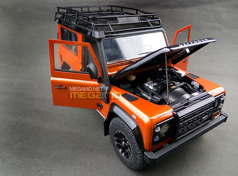 Kyosho unveils Land Rover Defender 90 Adventure Edition in ...