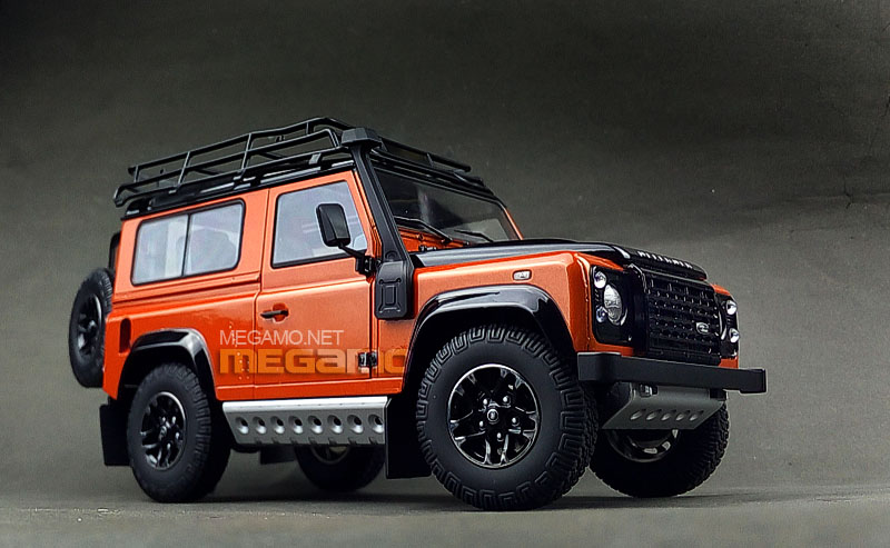 Kyosho Unveils Land Rover Defender 90 Adventure Edition In