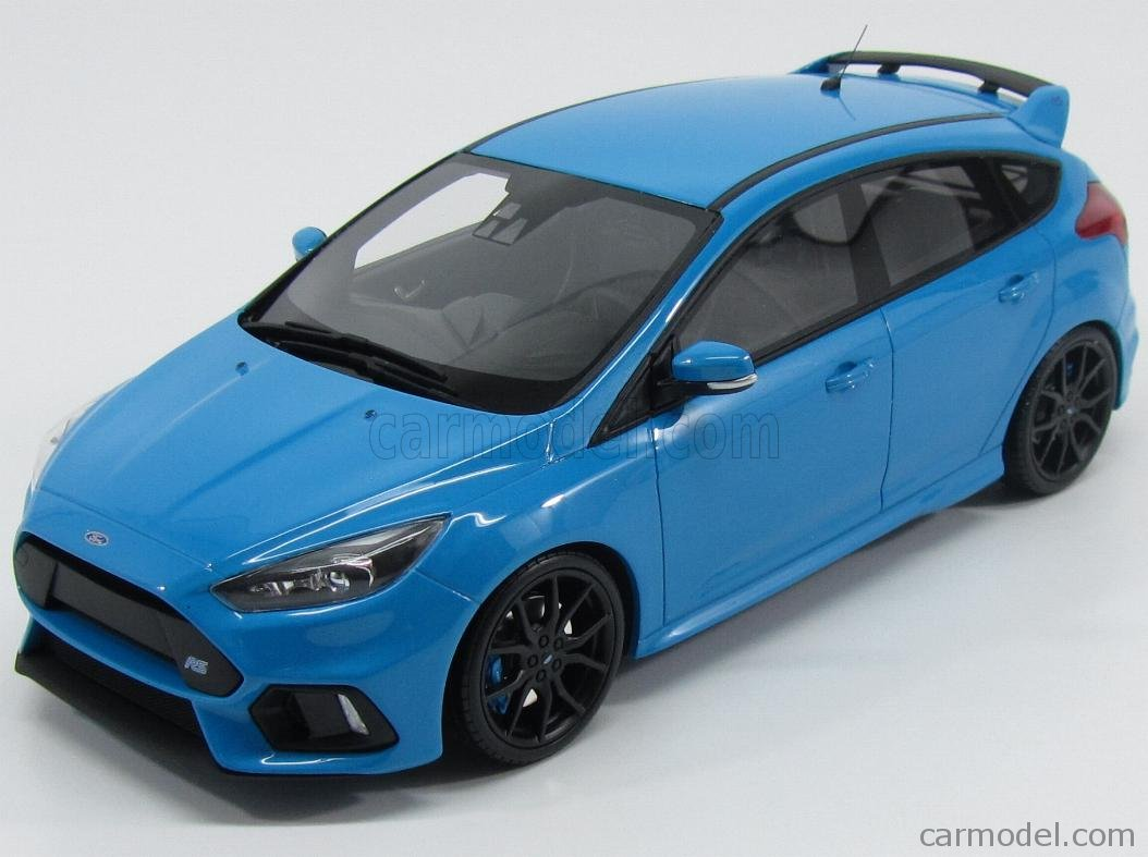 otto mobile releases 1 18 ford focus rs 2016 in nitrous blue xdiecast. Black Bedroom Furniture Sets. Home Design Ideas
