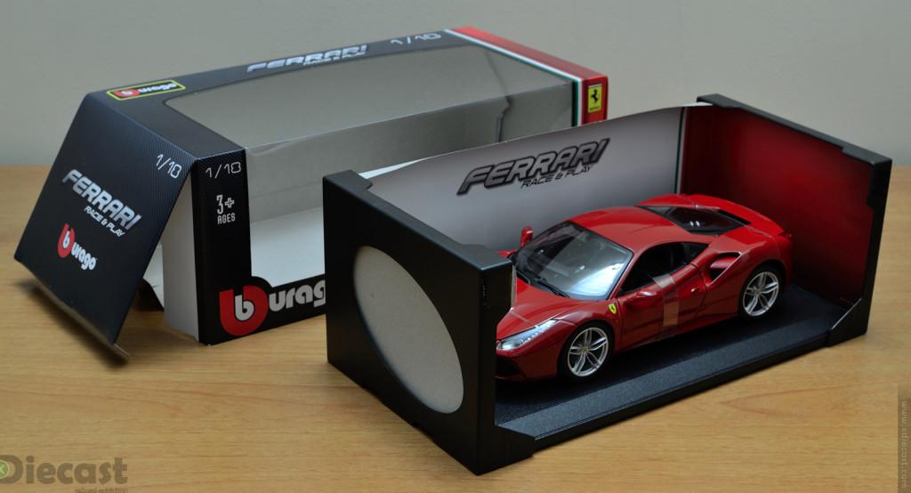 Bburago 1:18 Ferrari 488 GTB - Unboxing