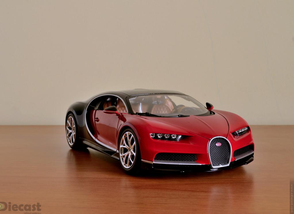 Bburago 1:18 Bugatti Chiron - Front View