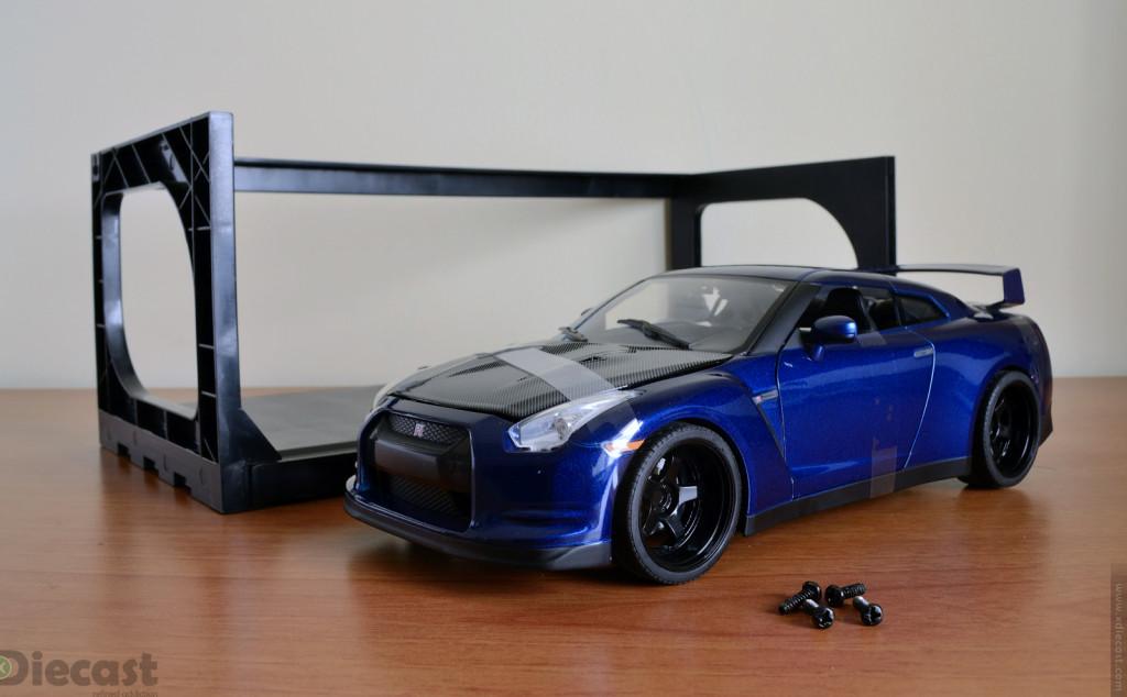 Jada Toys 1:18 Brian's Nissan GT-R R35 - Inner Frame