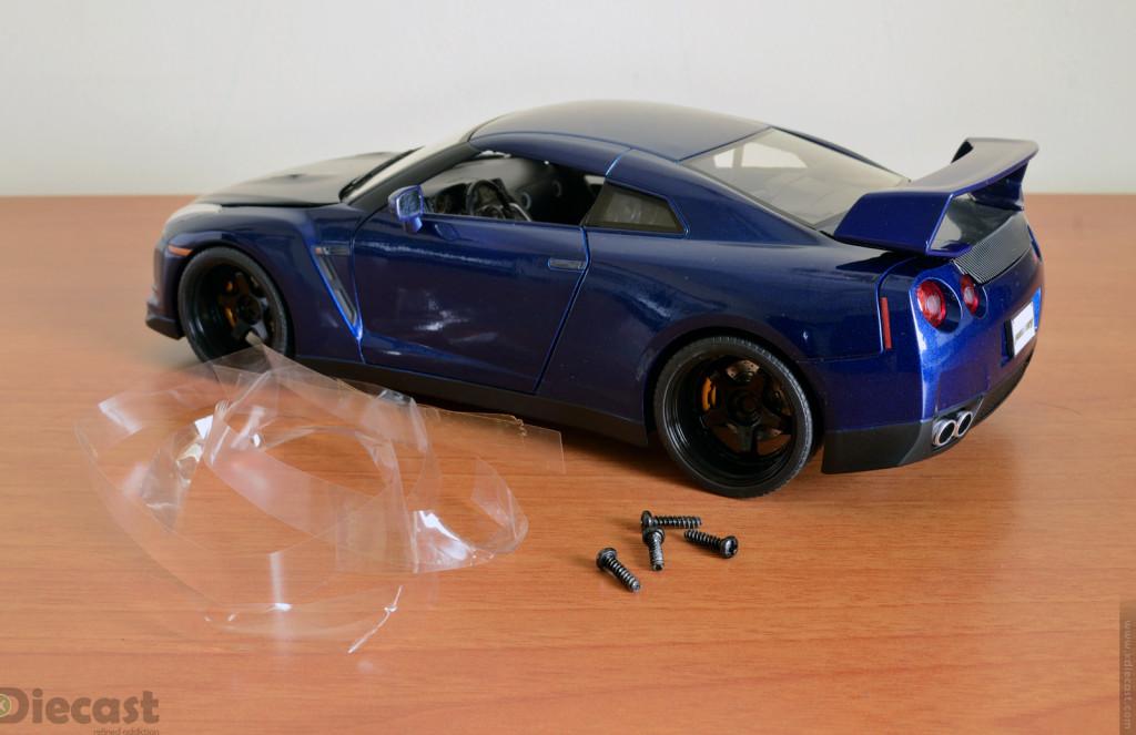 Jada Toys 1:18 Brian's Nissan GT-R R35 - 4 Screws
