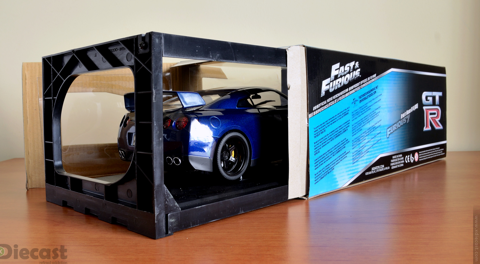 Jada Toys 1:18 Brian's Nissan GT-R R35 - Unboxing