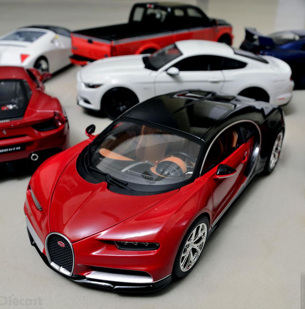 Bburago Bugatti Chiron - 1:18 Diecast Model
