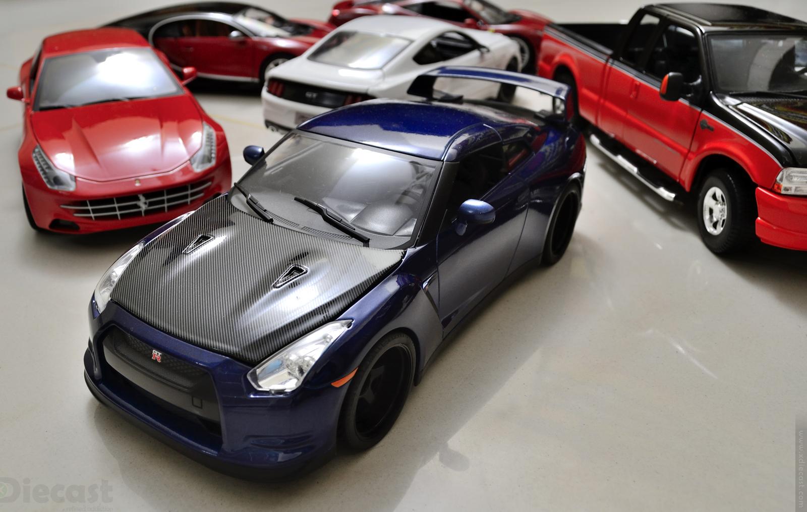 Jada Toys Brian's Nissan GTR R35 - 1:18 Diecast Model