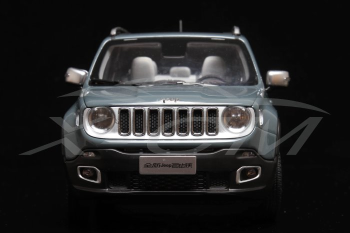 1:18 Jeep Renegade - Gray