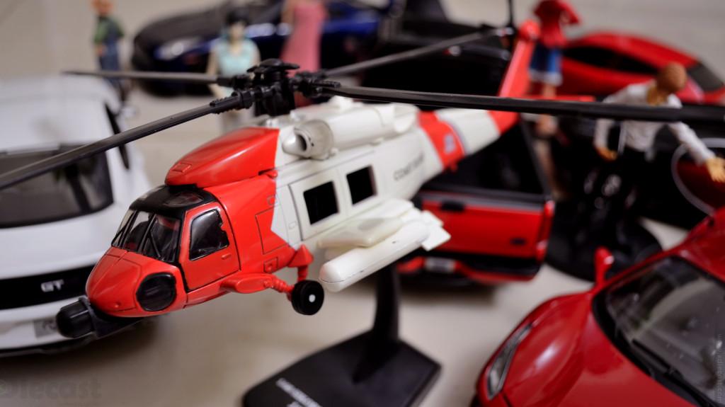 Newray Sikorsky HH60J Jayhawk – 1:60 Diecast Airplane