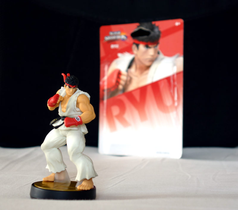 RYU Figurine Nintendo Amiibo Super Smash Bros - Card